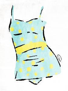 Vintage Swimsuit Pastel 2 by OnRei
