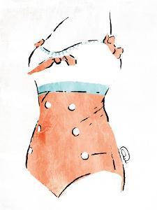 Vintage Swimsuit Pastel 3 by OnRei