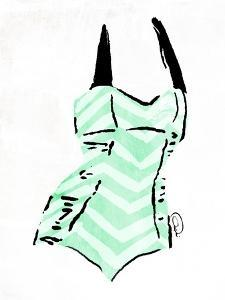 Vintage Swimsuit Pastel 4 by OnRei