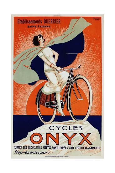 Onyx Cycles-Fritayre-Giclee Print