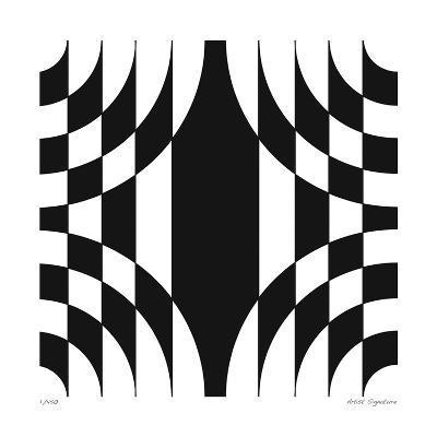 Op Circles III-Paula Scaletta-Giclee Print