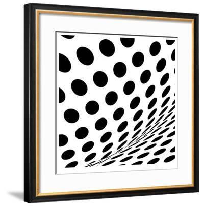 Op Dots II-Paula Scaletta-Framed Giclee Print