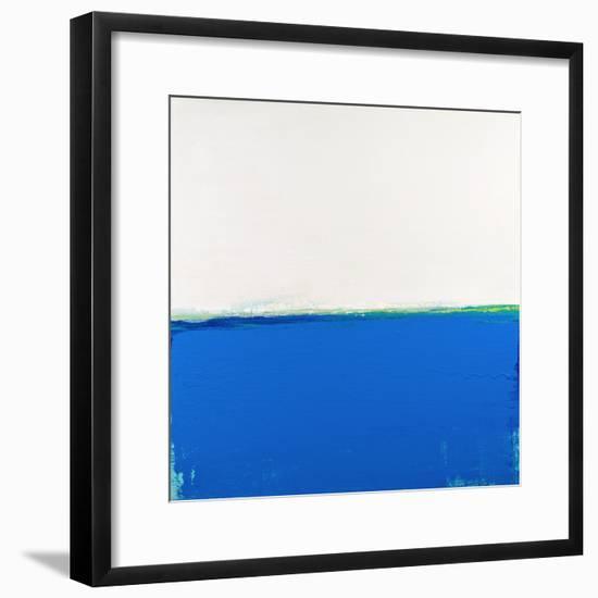 Open Blue-Don Bishop-Framed Art Print