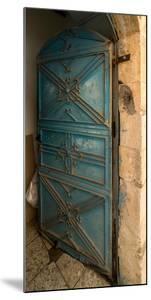 Open door, Safed (Zfat), Galilee, Israel