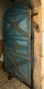 Open door, Safed (Zfat), Galilee, Israel