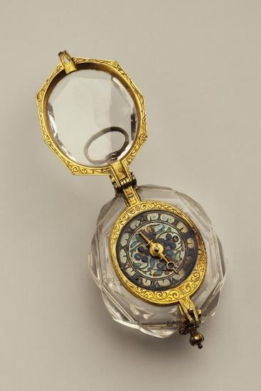 Open-Faced Pendant Watch, France--Giclee Print