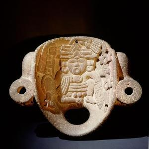 Open-Mouthed Stone Mask of Xipe Totec, the Flayed Lord, Dressed in the Skin of a Sacrificial Victim