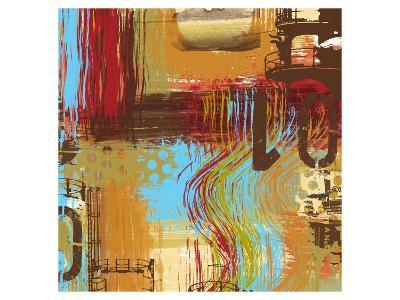 Open Road I-Irena Orlov-Art Print