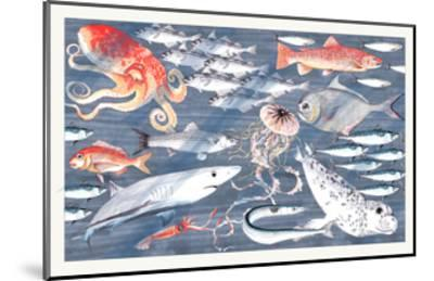Open Sea-Jacqueline Colley-Mounted Giclee Print