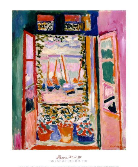 Open Window, Collioure, 1905-Henri Matisse-Art Print