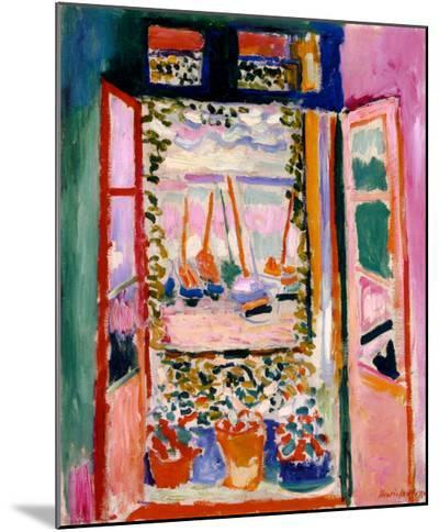 Open Window, Collioure, 1905-Henri Matisse-Mounted Print
