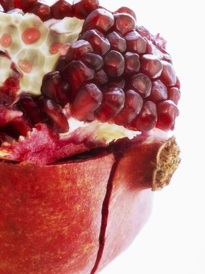 Opened Pomegranate, Close-Up-Dieter Heinemann-Photographic Print