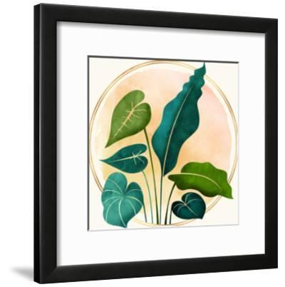 Opening Act-Modern Tropical-Framed Art Print