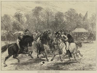 Opening Match of the Polo Club, at Hurlingham--Giclee Print