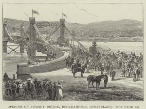 Opening of Fitzroy Bridge, Rockhampton, Queensland
