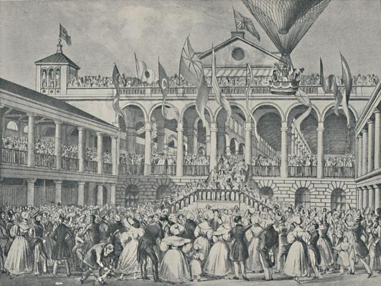 'Opening of New Hungerford Market, July 2nd, 1833', (1920)-Unknown-Giclee Print