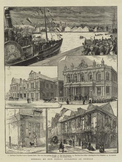 Opening of New Public Buildings at Ipswich--Giclee Print