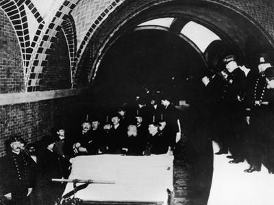 Opening of NYC Subway