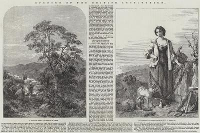 Opening of the British Institution-Henry Jutsum-Giclee Print