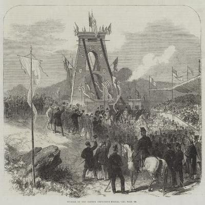 Opening of the Clifton Suspension Bridge--Giclee Print