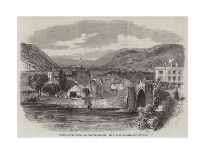 Opening of the Conway and Llanrwst Railway, the Vale of Llanrwst--Giclee Print