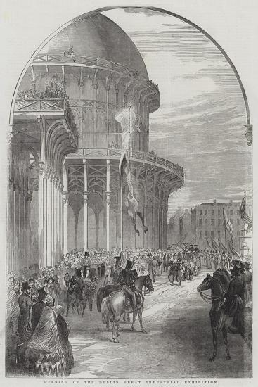 Opening of the Dublin Great Industrial Exhibition--Giclee Print