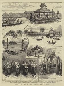 Opening of the Kokaing Water Works, Rangoon
