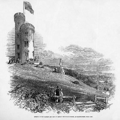 Opening of the Mathew and City of London Temperance Tower, at Mount Patrick, Near Cork, 1846--Giclee Print