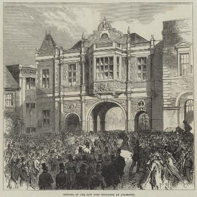 Opening of the New Corn Exchange at Aylesbury-Charles Robinson-Giclee Print
