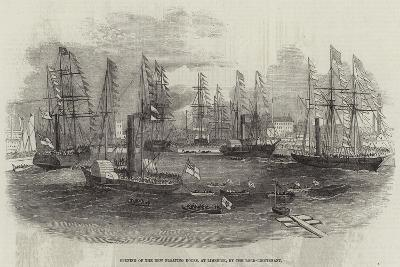 Opening of the New Floating Docks, at Limerick, by the Lord-Lieutenant--Giclee Print