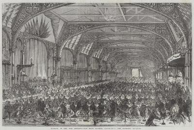 Opening of the New Metropolitan Meat Market, Smithfield, the Banquet--Giclee Print