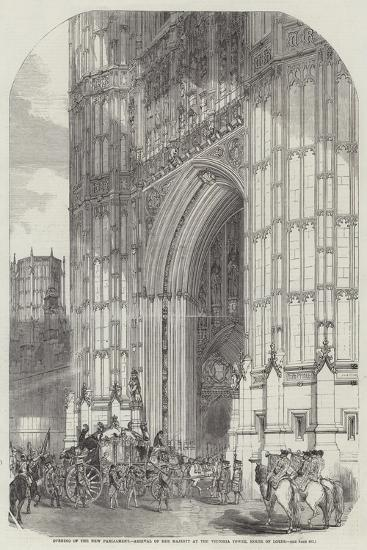 Opening of the New Parliament--Giclee Print