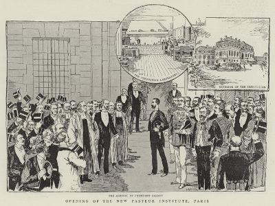 Opening of the New Pasteur Institute, Paris--Giclee Print