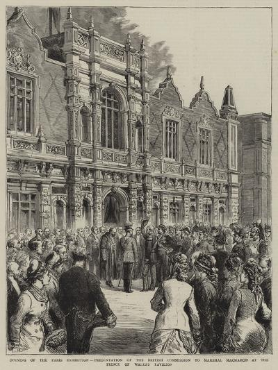 Opening of the Paris Exhibition--Giclee Print