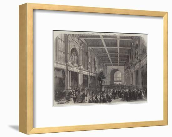 Opening of the Paris Exhibition--Framed Giclee Print