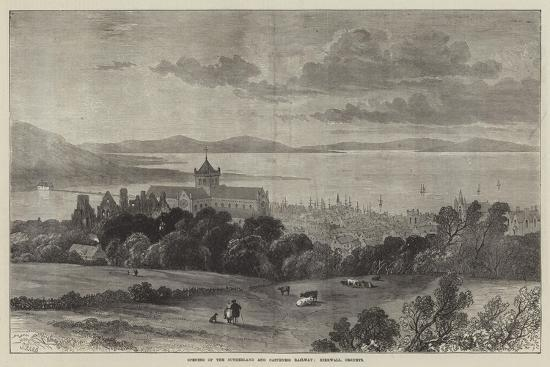 Opening of the Sutherland and Caithness Railway, Kirkwall, Orkneys-Samuel Read-Giclee Print