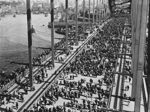 Opening of the Sydney Harbour Bridge