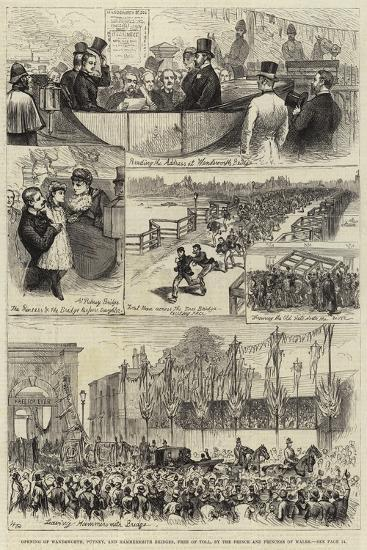Opening of Wandsworth--Giclee Print