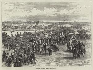 Opening Victoria Bridge, Queensland