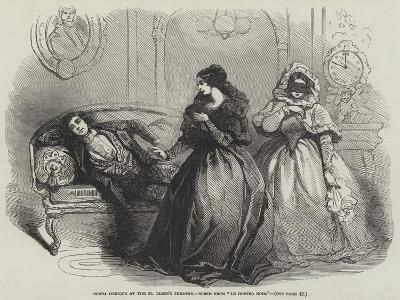 Opera Comique at the St James's Theatre, Scene from Le Domino Noir--Giclee Print
