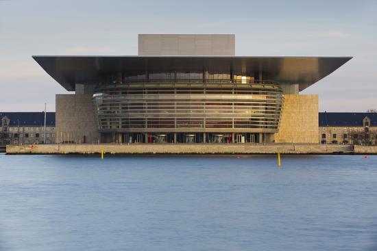 Opera, Havnebussen, Copenhagen, Denmark-Rainer Mirau-Photographic Print