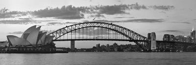 Opera House and Harbour Bridge, Sydney, New South Wales, Australia-Michele Falzone-Photographic Print