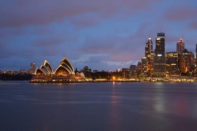 Opera House from North Sydney, Sydney, New South Wales, Australia, Oceania-Frank Fell-Photographic Print