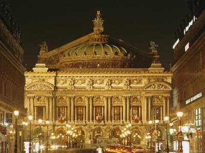 Opera House, Paris, France, Europe-Roy Rainford-Photographic Print