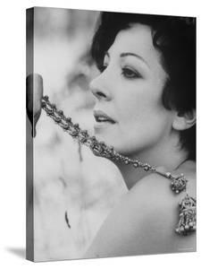 """Opera Singer and Actress Anna Moffo in a Scene From the Italian Movie """"A Story of Love."""""""