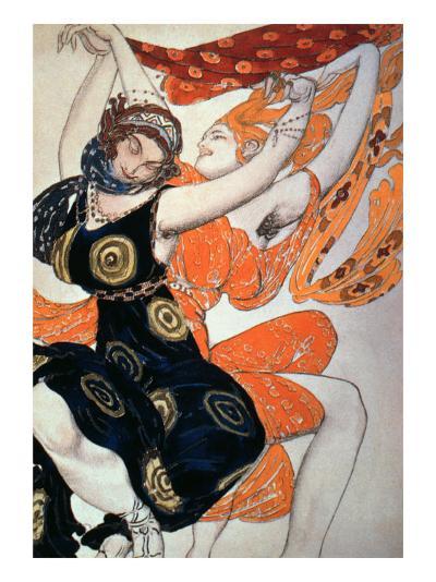 Operatic Costume Designs, 1911-Leon Bakst-Giclee Print