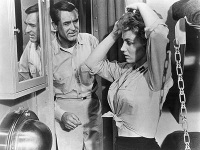 Operation Petticoat, Cary Grant, Joan O'Brien, 1959--Photo