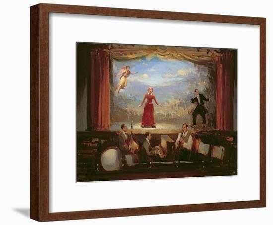 Operetta, 2003-Alan Kingsbury-Framed Giclee Print