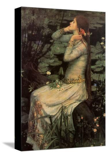 Ophelia, 1894-John William Waterhouse-Stretched Canvas Print