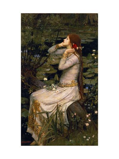 Ophelia, 1894-John William Waterhouse-Giclee Print